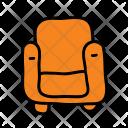 Armchair Chair Sofa Icon