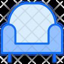 Armchiar Sofa Lounge Icon