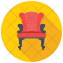 Armed Chair Icon