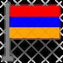 Flag Country Armenia Icon