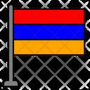 Armenia Country Flag Flag Icon