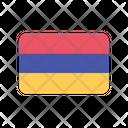 Armenia Am Flag Country Icon