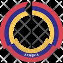 Armenia Country Flag Icon