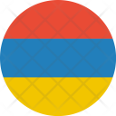 Armenia Flag World Icon