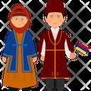 Armenian Outfit Armenian Clothing Armenian Dress Icon