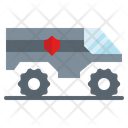 Armored Security Guard Icon