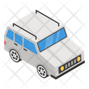 Armored Car Personal Car Auto Icon