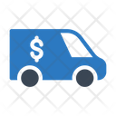 Truck Dollar Money Icon