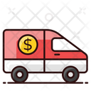 Armored Van Bank Vehicle Money Van Icon