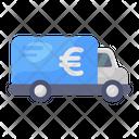 Armored Van Bank Vehicle Money Van Icon