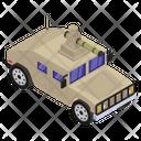 Armoured Car Icon