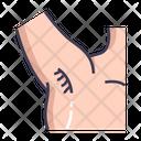 Armpit Body Anatomy Icon