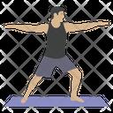 Arms Exercise Icon