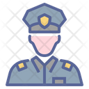 Military Police Legal Icon