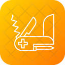 Army Knife Safety Icon