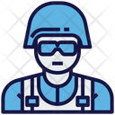 Army Soldier Force Icon
