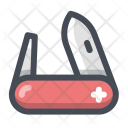 Army Knife Cutter Icon