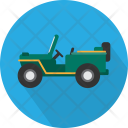 Army Jeep Vehicle Icon