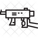 Refugee Gun Firearm Icon