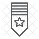 Rank Shoulder Badge Icon