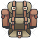Military Backpack Army Icon