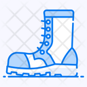Army Boot Army Shoe Footpiece Icon