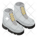 Army Boots Army Shoes Footpiece Icon