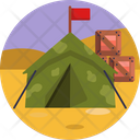 Camp Red Flag Army Icon