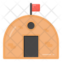 Barrack Basecamp Army Camp Icon