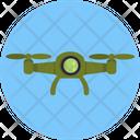 Drone Camera Army Icon