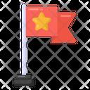 Army Flag Military Flag Flagpole Icon