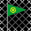 Army Signal Flag Icon