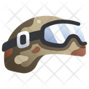 Helmet Soldier Army Icon