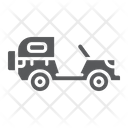 Army Vehicle Transport Icon