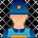 Army Military Helmet Icon