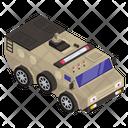 Army Van Military Van Military Bus Icon
