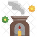 Aroma Smell Candle Icon