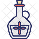 Aroma Oil Bottle Cooking Oil Icon