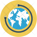 Around The Globe Icon