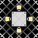 Around Lighting Icon
