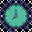 Around The Clock Icon