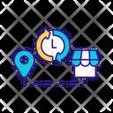 Warehouse Management Logistic Icon