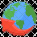 Around The Globe Around The World Around The Planet Icon