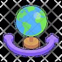 Around The World Around The Globe All Over World Icon