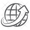 Around The World Worldwide Globalization Icon