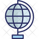 Around The World Earth Globe Icon