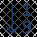 Arrange Number Icon