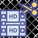 Arrangement Of Video Shots Icon