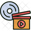Arrangement Of Video Shots Film Editing Manipulation Of Video Shots Icon