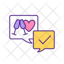 Arranging First Date Love First Icon